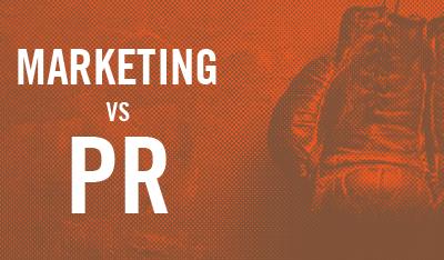 Marketing vs. PR