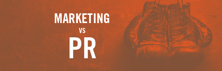 Marketing vs. PR